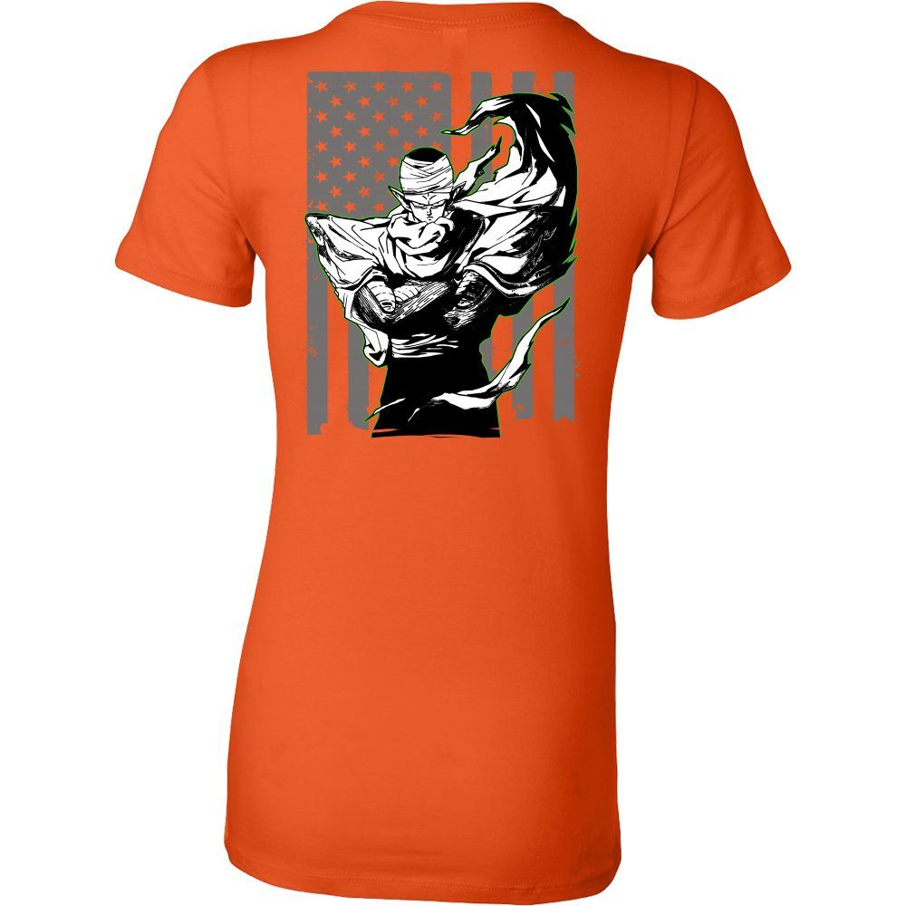 Saiyan Namek Piccolo Woman Short Sleeve T shirt - TL00010WS