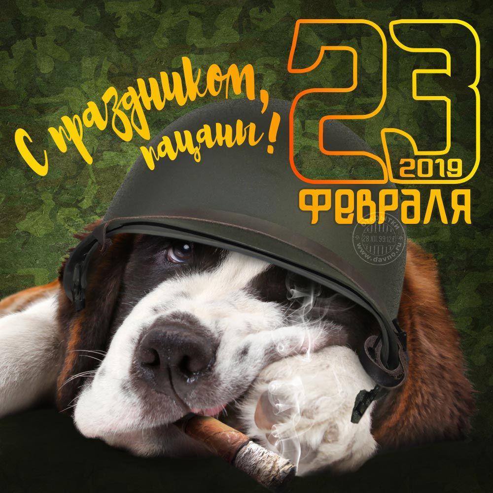S Prazdnikom Pacany Prikolnaya Otkrytka Na 23 Fevralya 2020