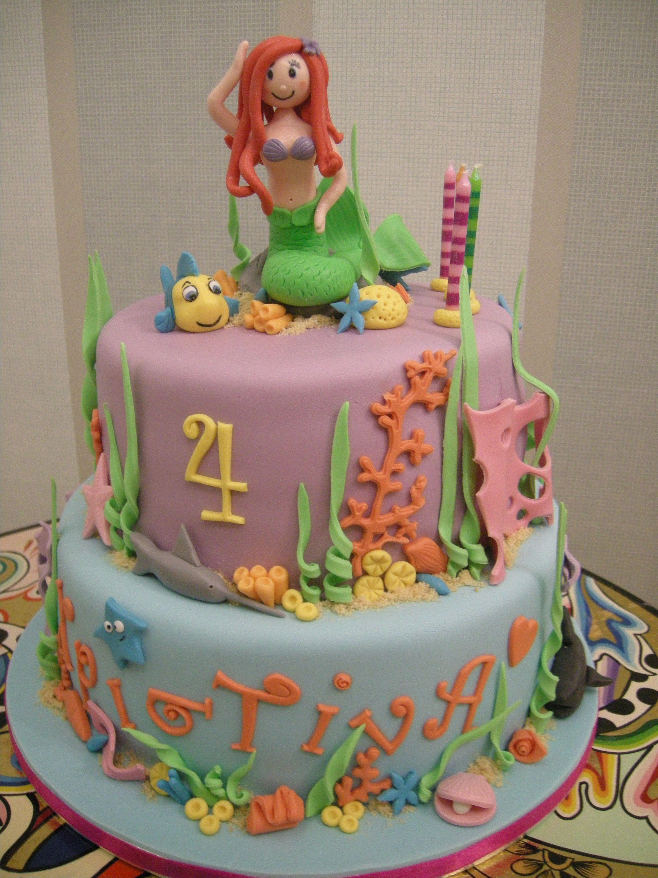 50 Disneys Ariel Cake Design (Cake Idea) - October 2019