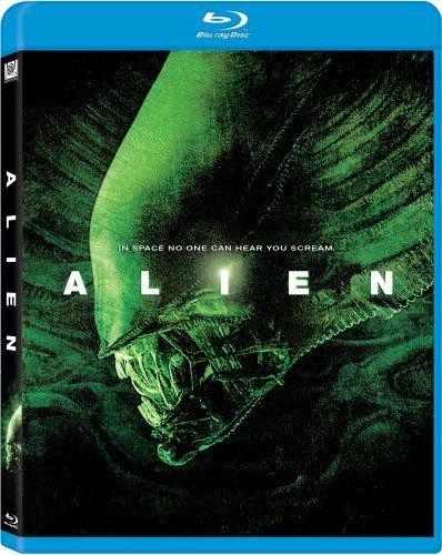 Alien [Blu-ray] Blu-ray ~ Sigourney Weaver.  Price slashed to US $10.98!