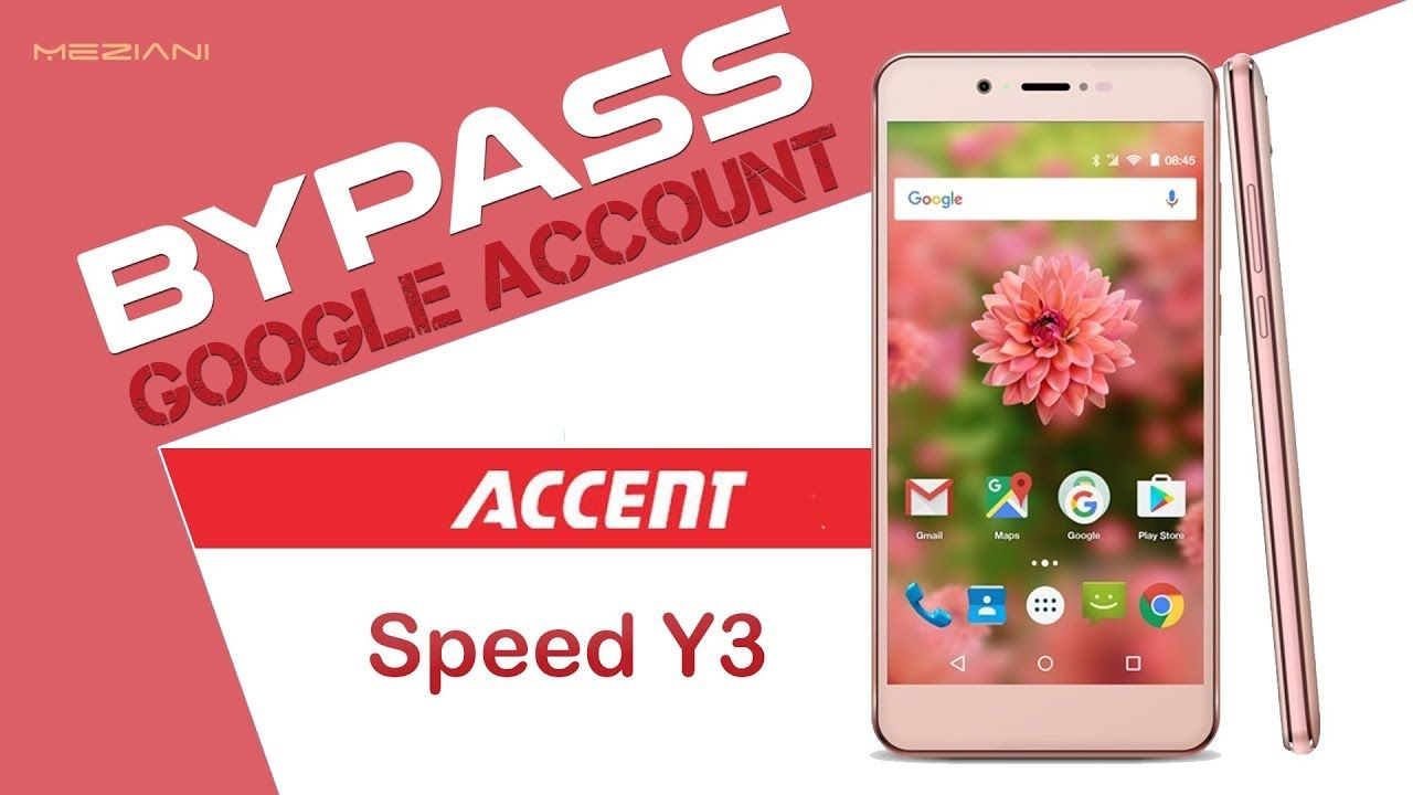 Bypass Google Account ACCENT Speed Y3 Remove FRP | bypass