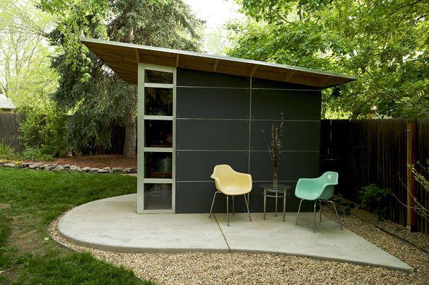 Diy Garden Shed Plans Modern Green Affordable Studio