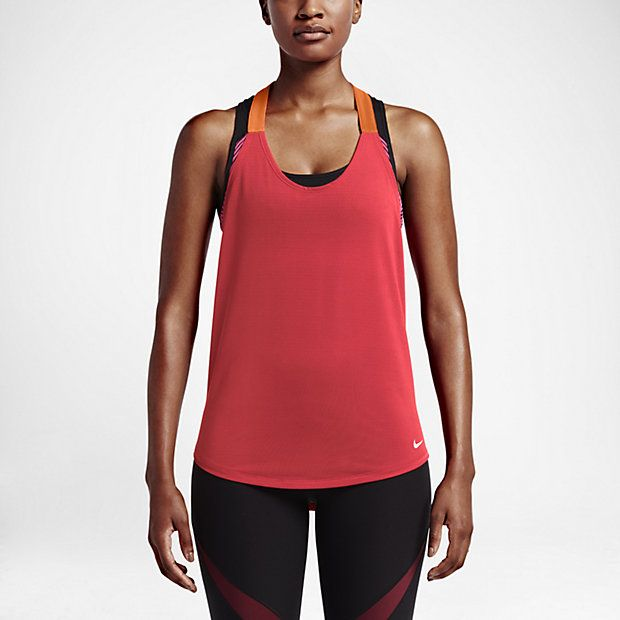 Nike Elastika Elevate Just Do It Women's Training Tank Top. Fitness FashionTank  TopsFitness ...