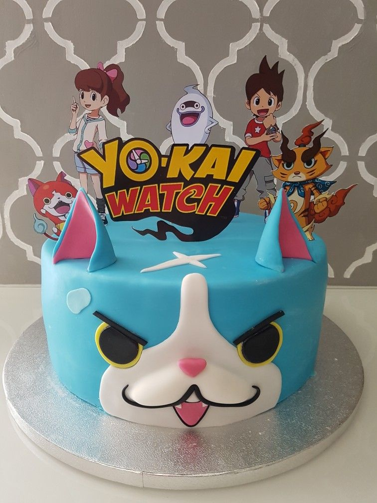 Yo Kai Watch Cake Yokaiwatchcake Yokaiwatch Kawaii Yo Kai Watch