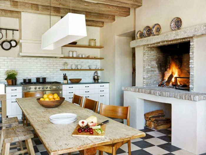 rustikale deko küche rustikal gestalten Dekoration - Decoration - deko für küche