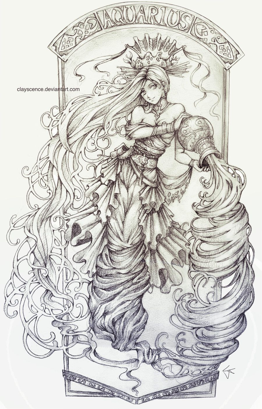 Aquarius by clayscence on deviantART | Zodiac Signs | Pinterest ...