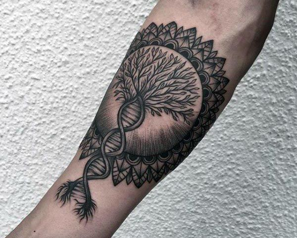 5d9498b937c6d 100 Tree Of Life Tattoo Designs For Men - Manly Ink Ideas | Cool ...