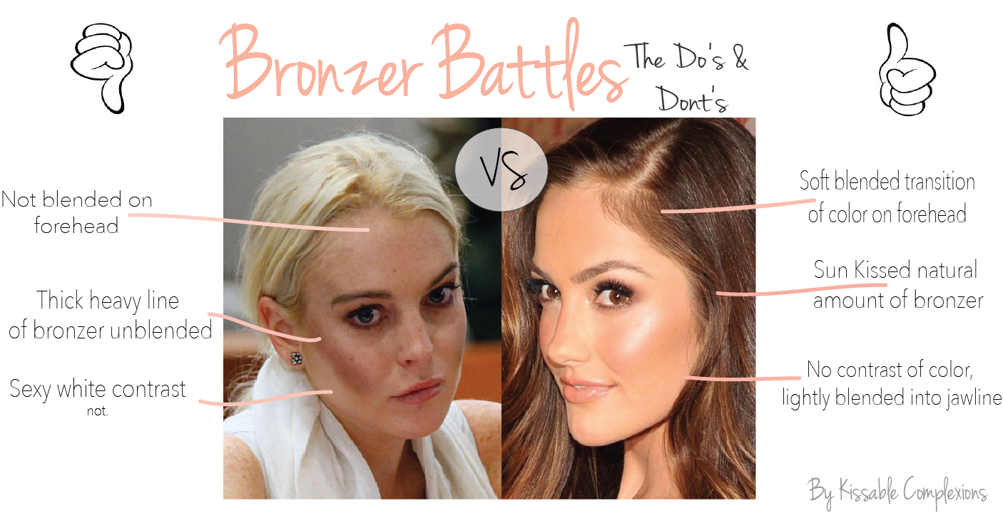 Bronzer do's and don'ts