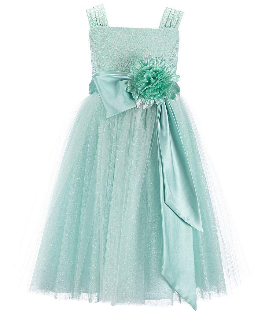 Chantilly Place Big Girls 7-16 Brocade Ballerina Dress | Wedding ...