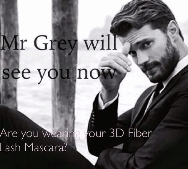 Mr Grey is ready for you, better get your 3D lashes on!!