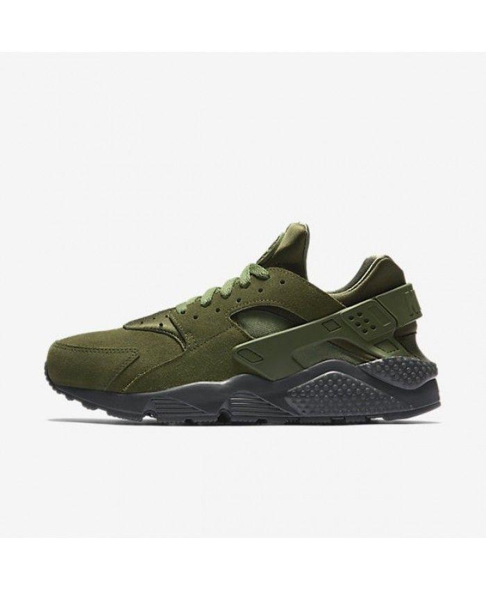 60e16a3de44e Nike Air Huarache Se Legion Green Anthracite Smoky Blue Legion Green Shoe