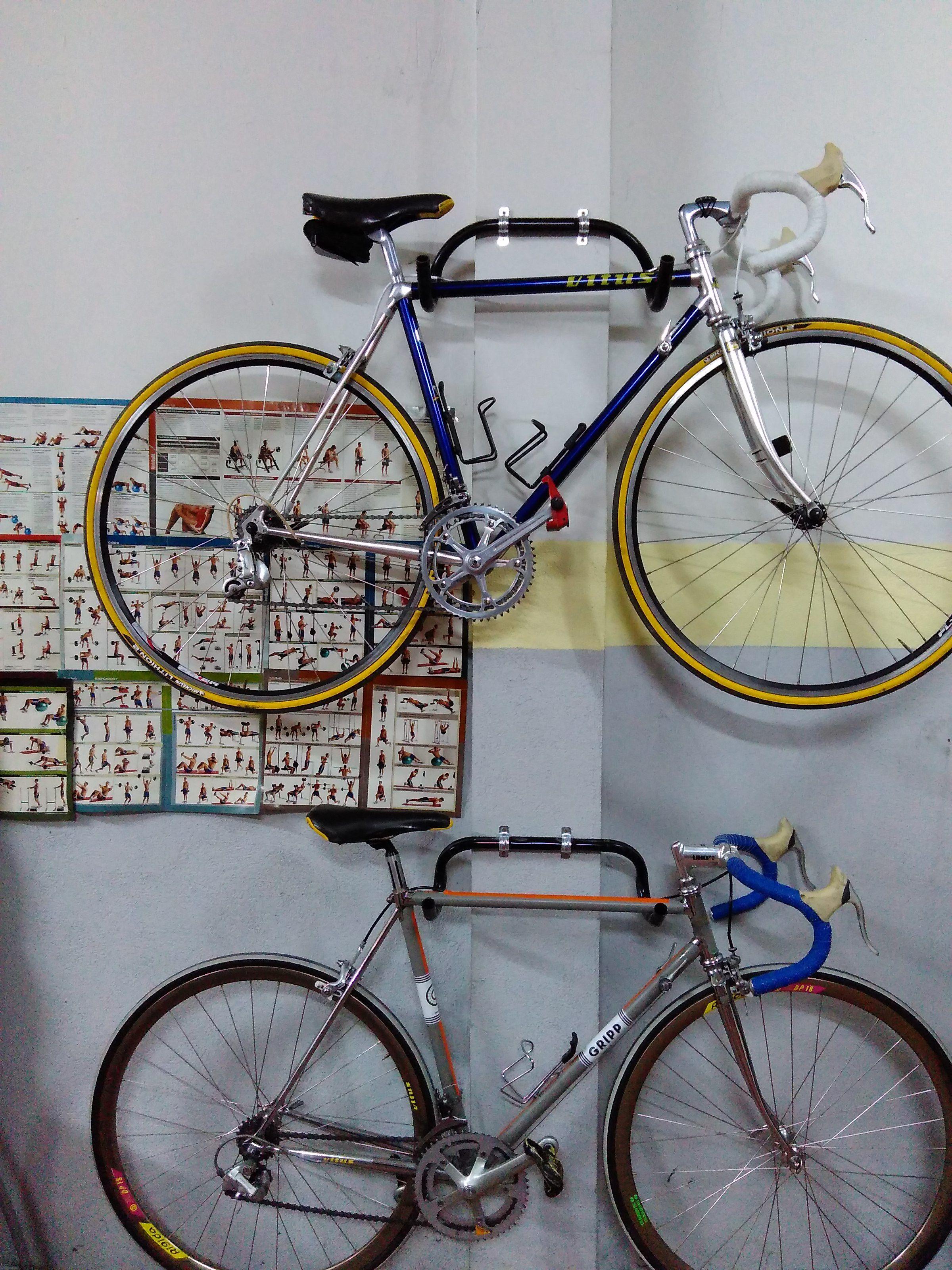 Contemporáneo de Arte para Decoración de pared de metal escultura-Negro Pedal Bicicleta Ciclo