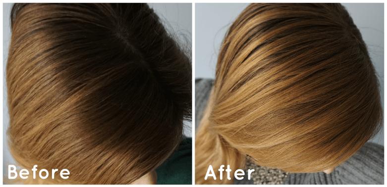 DIY Hair Lightening Spray inspired by JF Go Blonder Diy