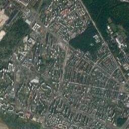Mapa Satelitarna Miejscowosci Warszawa Bielany Zdjecia Warszawa