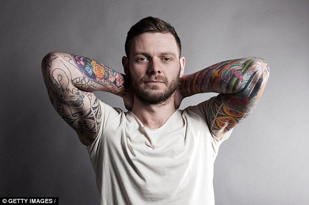 Women find tattoos a turn-off as they make men more likely to cheat Men Tattoos for guys Women