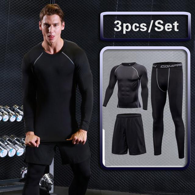 b6a5567f478 Men's Gym Fit Nation Dry Fit Sets (3 piece, 4 piece, 5 piece and 6 ...