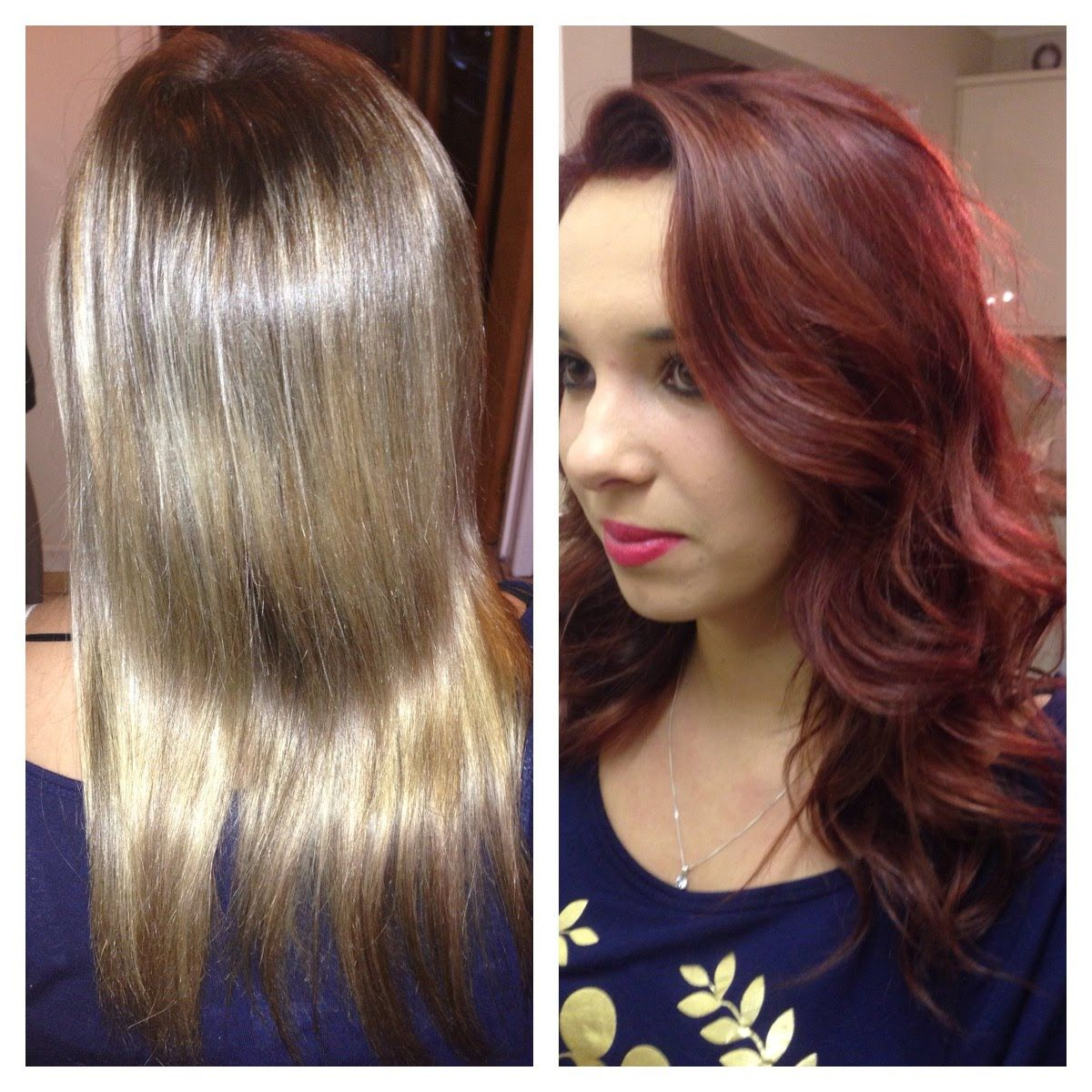 Blonde To Red Hair Color Best At Home Semi Permanent Hair Color