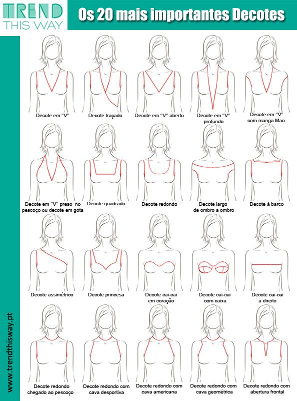 top 20 decotes, cleavage, neckline | Book of fashion | Pinterest ...