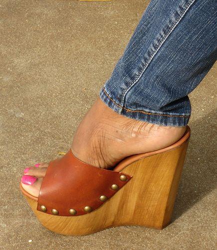 b96ea677742 Steve Madden Bazooka Wedge Heels | wooden heels | Shoes, Wedge shoes ...