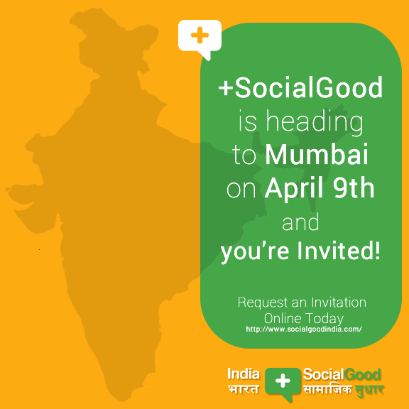Promotion of our event in Mumbai! #india #socialgood