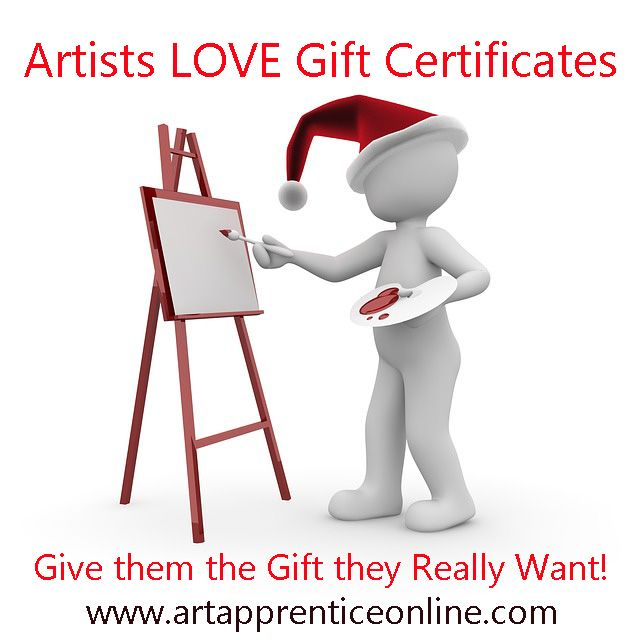 http://store.artapprenticeonline.com/ #giftcertificates,#artistsgifts,#christmasgifts