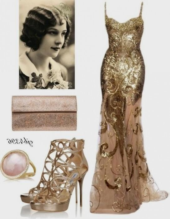 Awesome Great Gatsby Inspired Prom Dresses 2017 2018