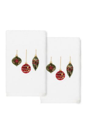 Linum Home Textiles Textiles Christmas Hand Towel #handtowels