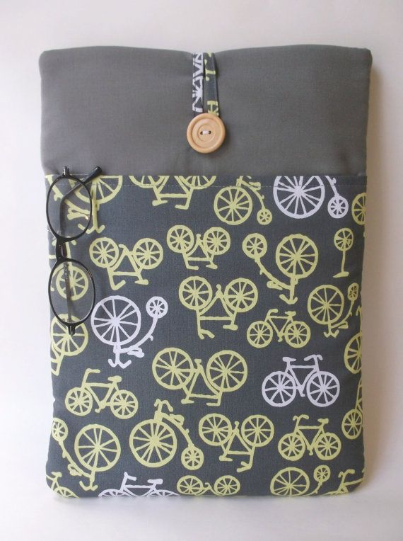 12 Inch Macbook Case 11 6 Bicycle By Madebyjulie