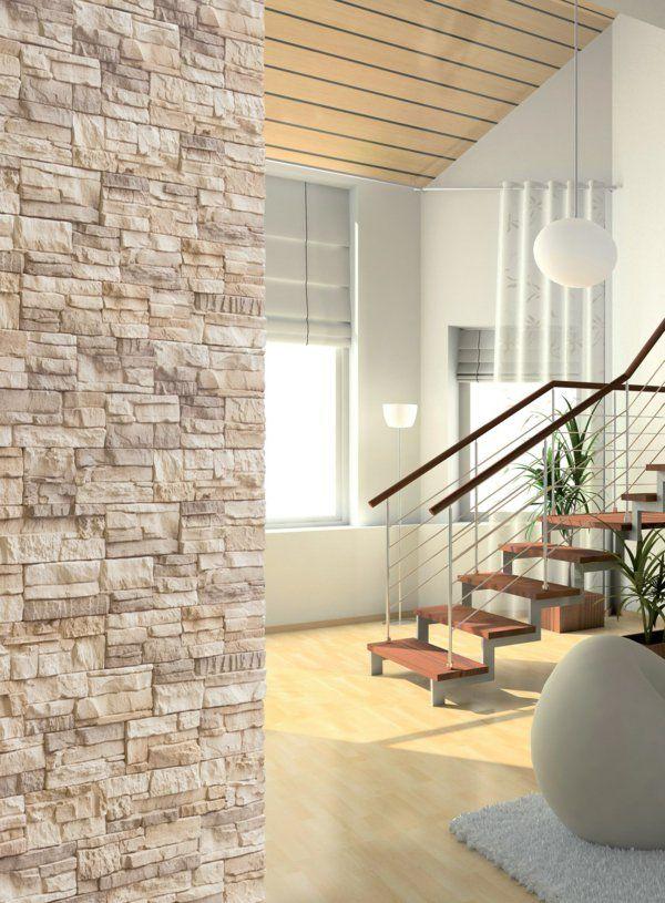 l pierre de parement int rieur deco mur pinterest parement pierre interieur interieur et. Black Bedroom Furniture Sets. Home Design Ideas