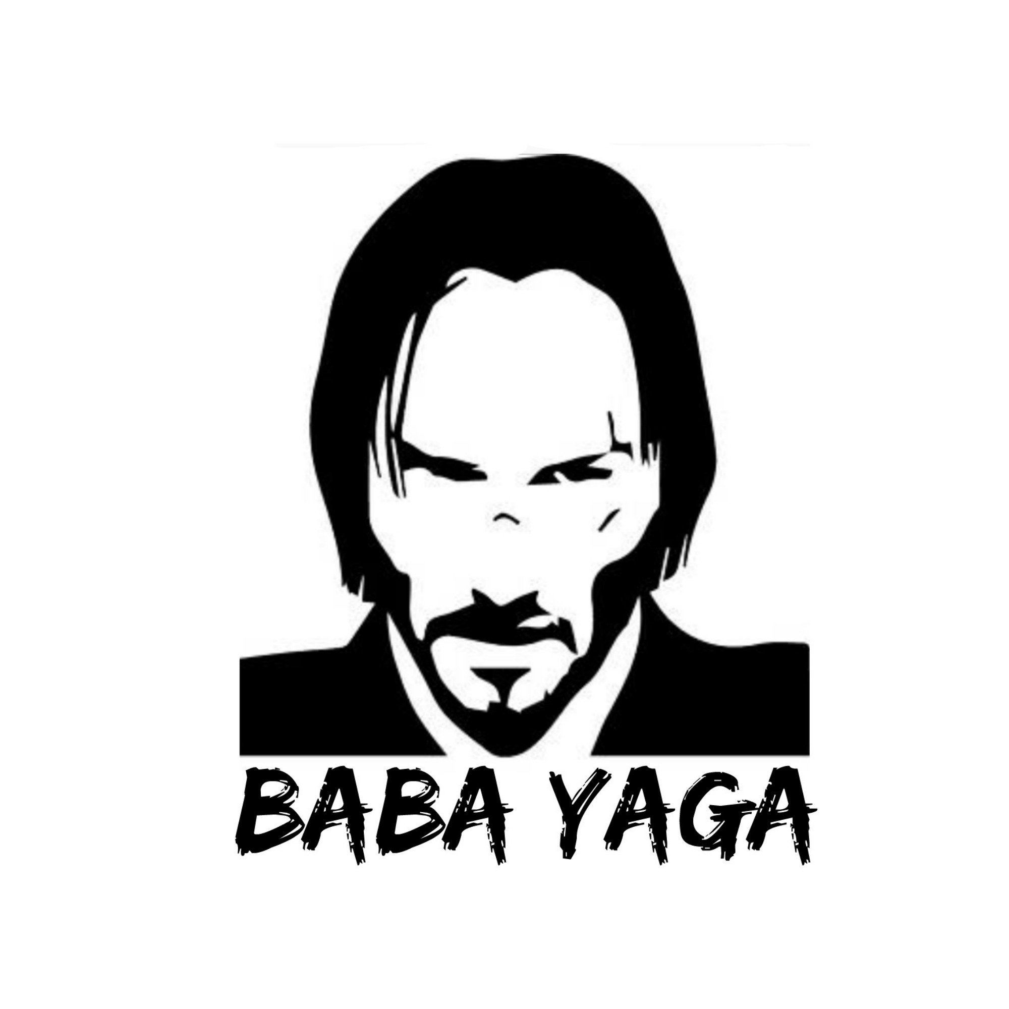 John Wick Baba Yaga Vinyl Decal Yeti Cups Laptops Cars John Wick Tattoo Funny Cartoon Faces Film Posters Minimalist