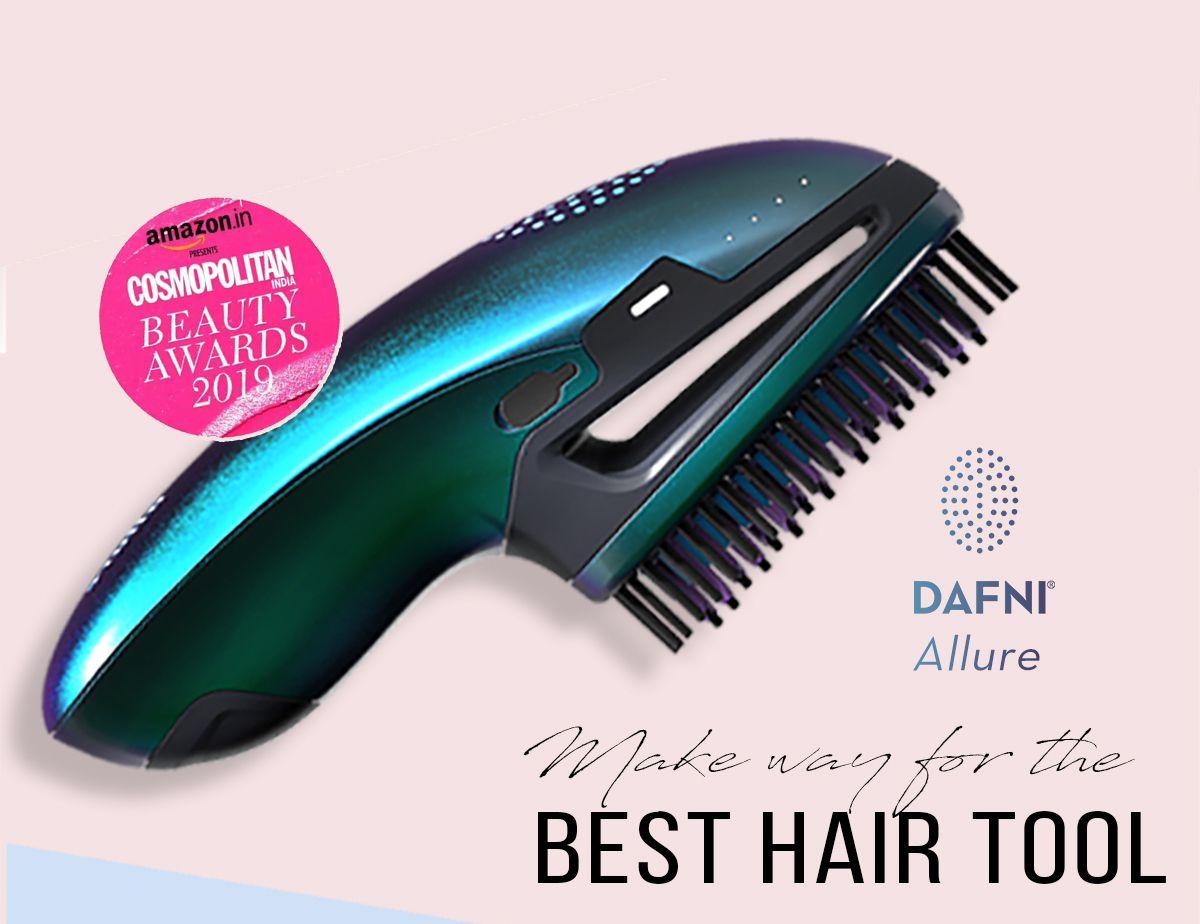DAFNI Allure Cordless Hair Straightening Brush
