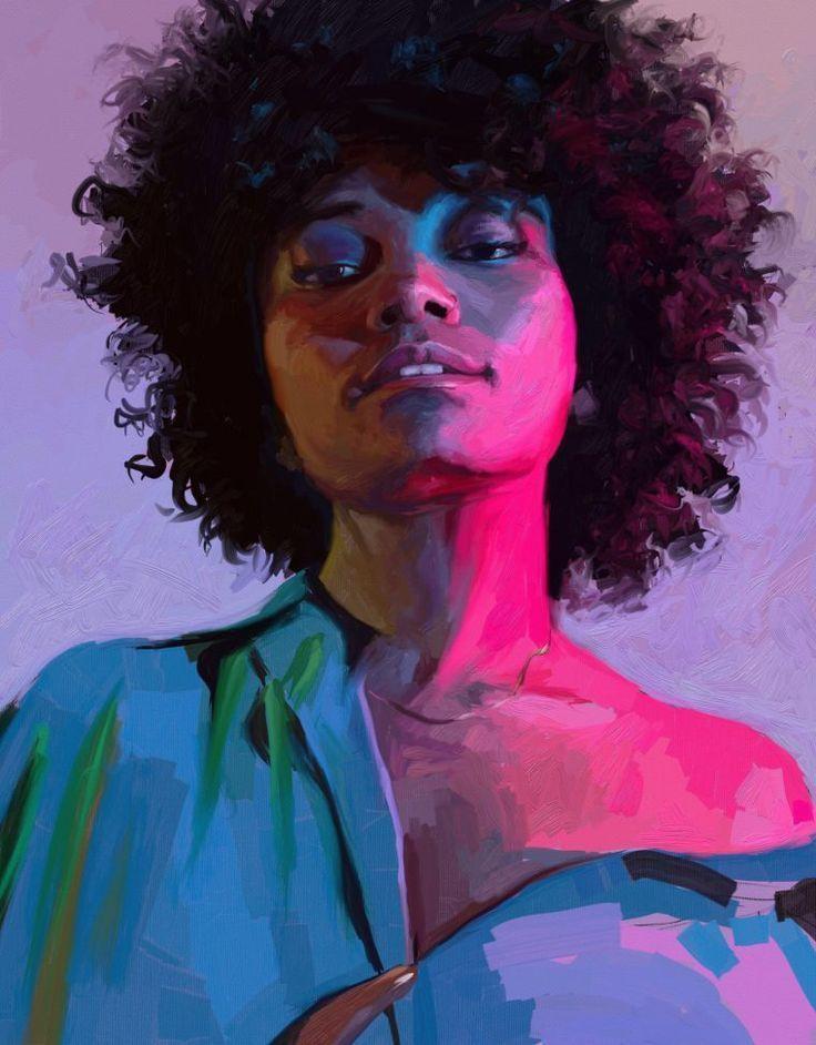 The Final Portrait Challenge Paintings The Final Portrait Challenge Paintings Digital Art digital art portrait