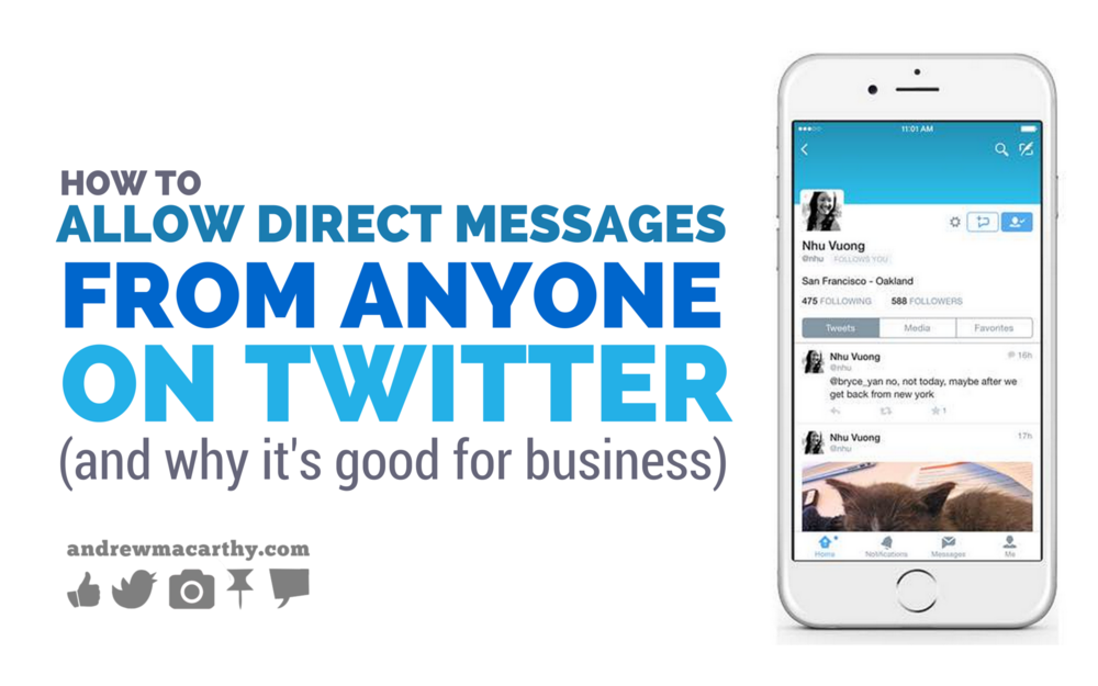 How to Allow Direct Messages (DMs) from Anyone on Twitter