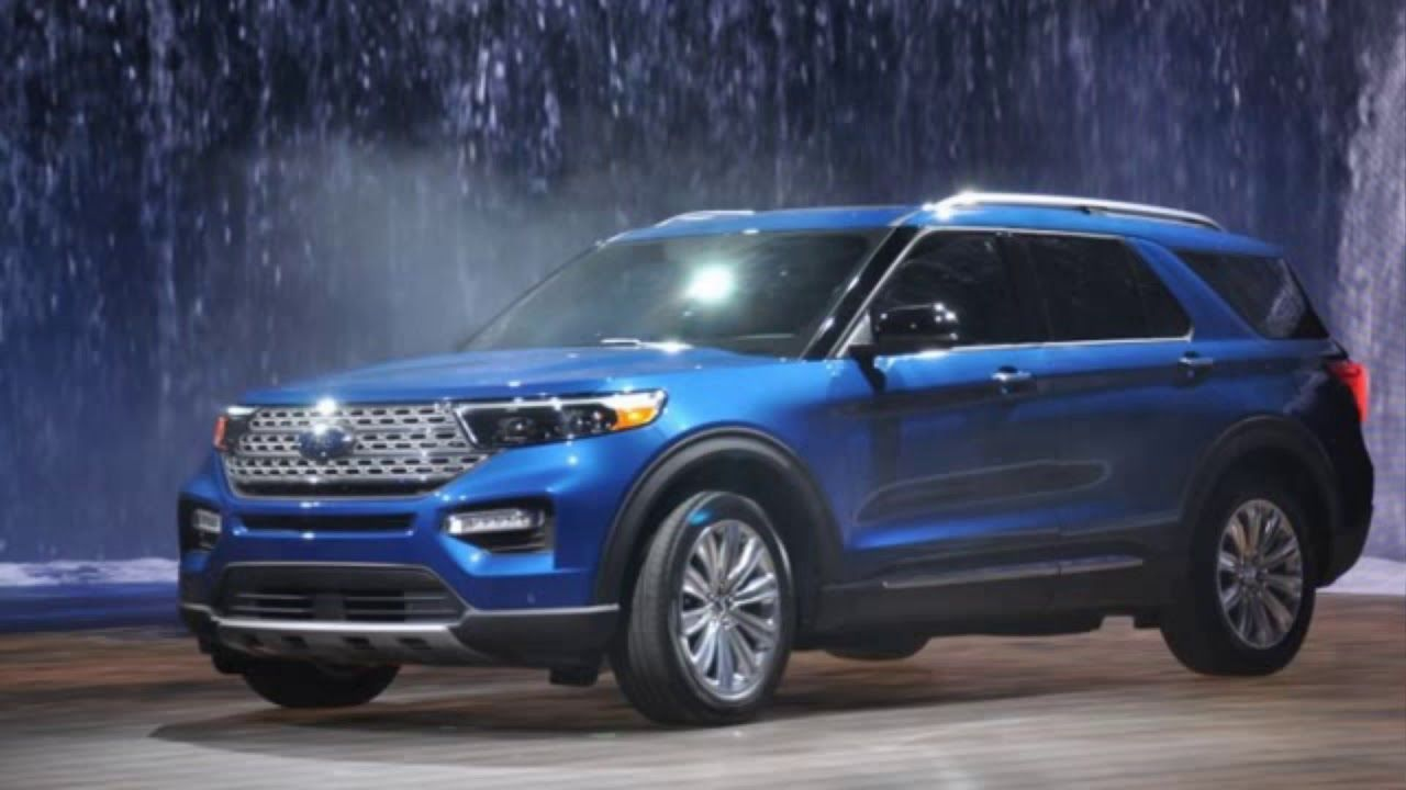 2020 Ford Explorer New Powerful Suv Design Refreshed Engine And Transmi Ford Explorer 2020 Ford Explorer New Explorer