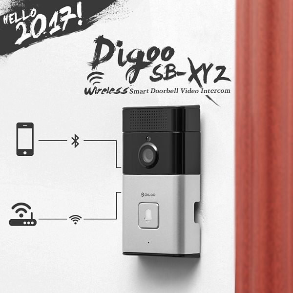 Digoo SB-XYZ Wireless Bluetooth and WIFI Smart Home HD Video - online küchen bestellen