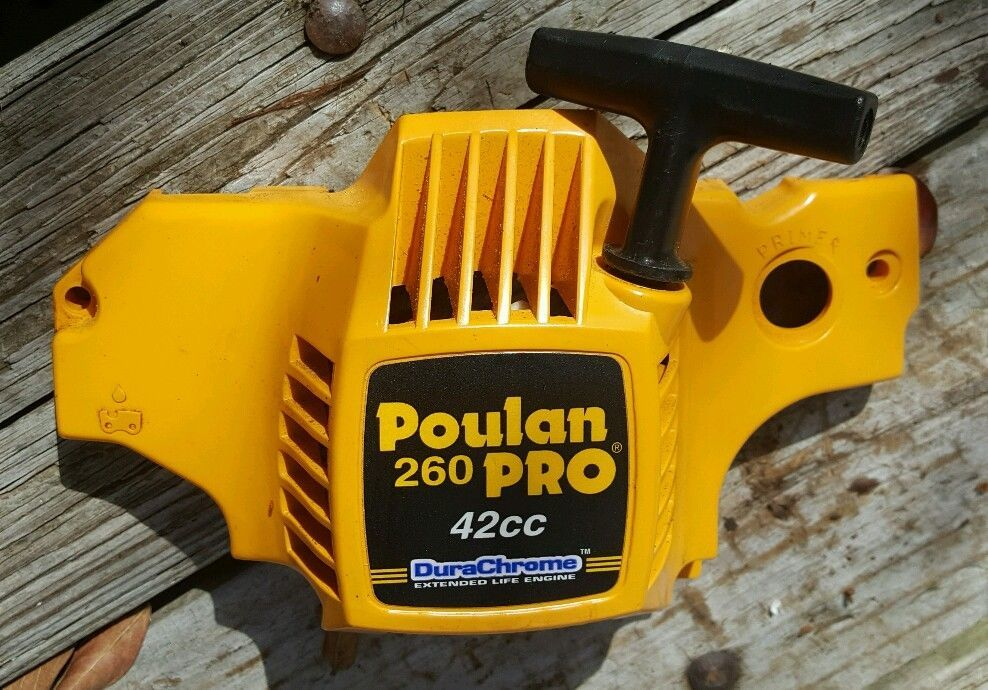Poulan Pro 260 262 42cc Chainsaw Recoil Pull Starter Poulan With