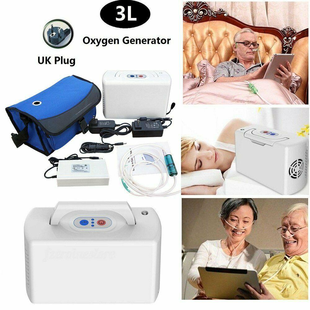 Details Zu 3l Tragbarer Sauerstoffkonzentrator Generator Mit Lithium Batterie Hauptreise Batterien Ebay Reisen