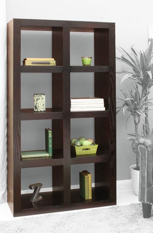 Cube Bookcases Your Assistant Dark Wood Living Room Living Room Wood Furniture Design Living Room