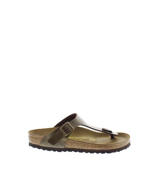 Gizeh brons gold brown slipper birkenstock