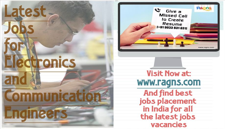 Latest jobs for electronics and communication