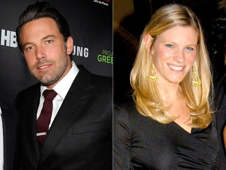Ben affleck and lindsay shookus romance began while they