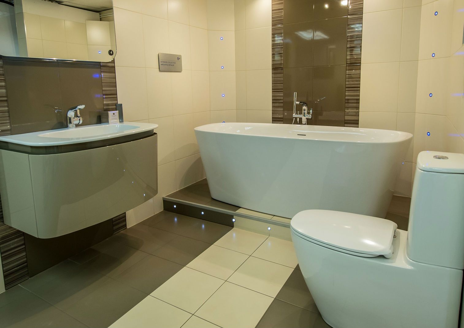Ideal Standard Dea suite at Sovereign Bathroom Centre ...
