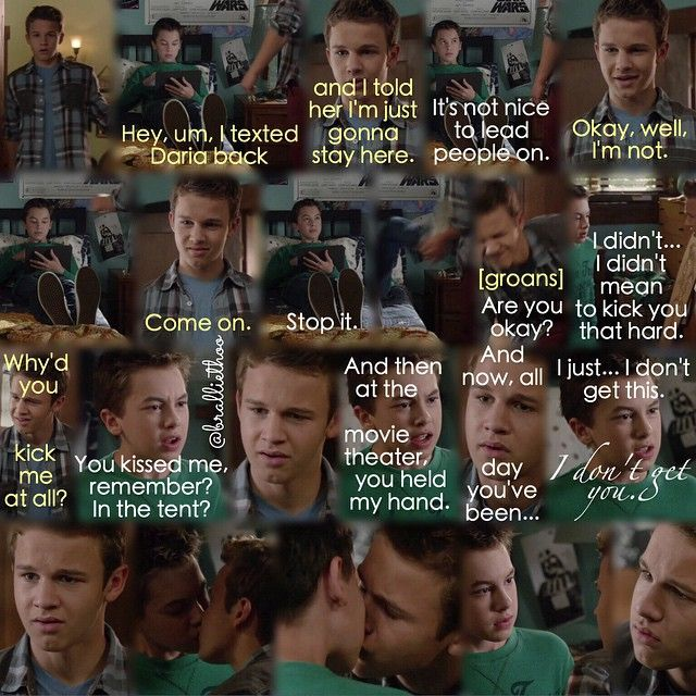 "#TheFosters 2x18 ""Now Hear This"" - Jude and Connor"