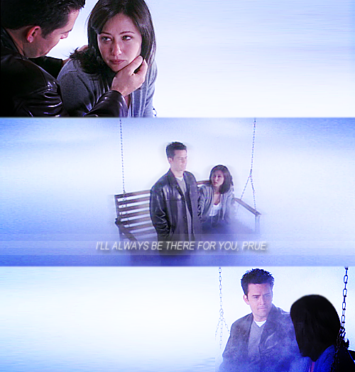 Prue and Andy.I still cry every time at this scene :'(