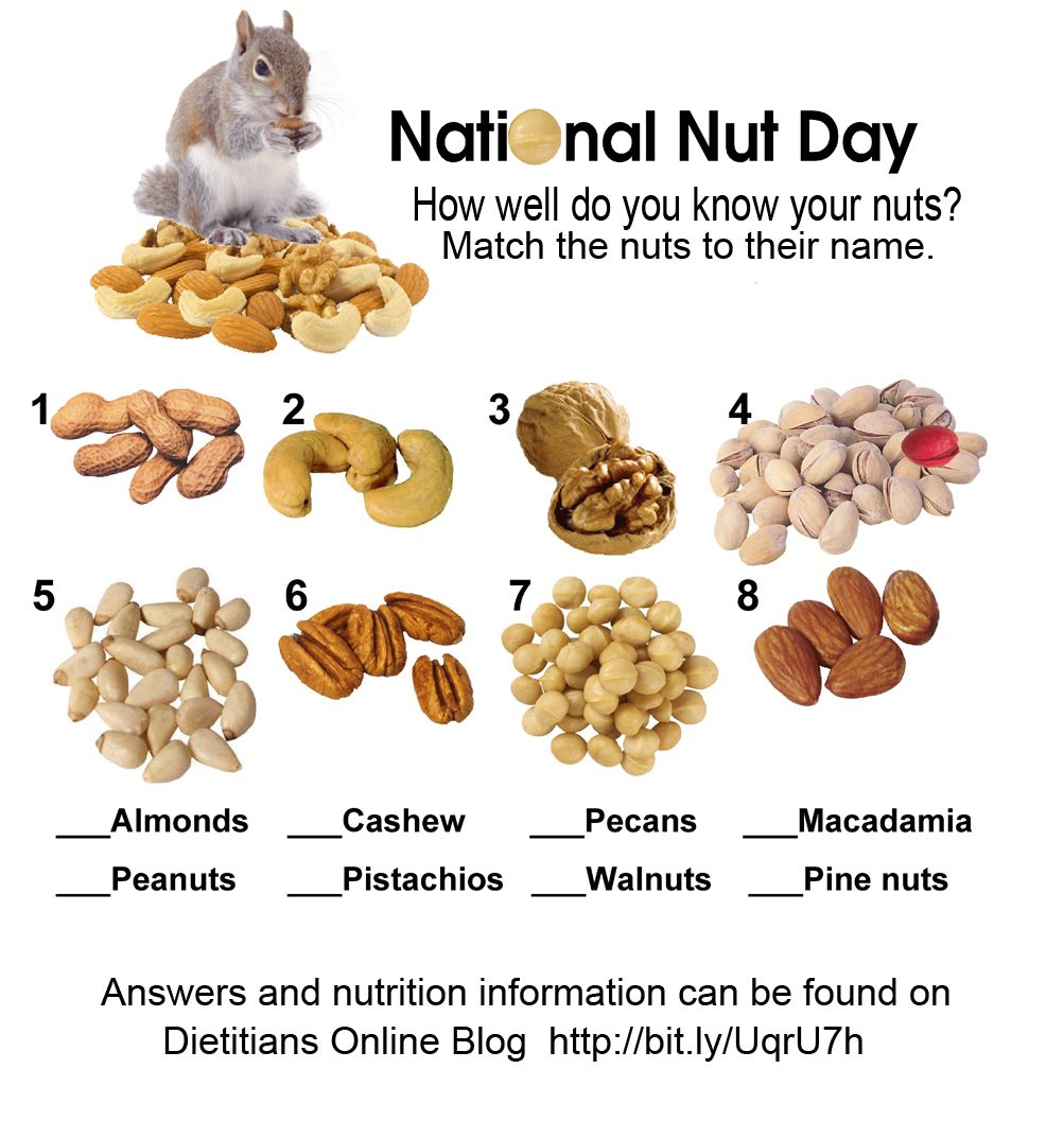 70 Low Calorie Recipes For High Stress Days: Oct 22, 2012 National Nut Day How Well Do Your Nuts
