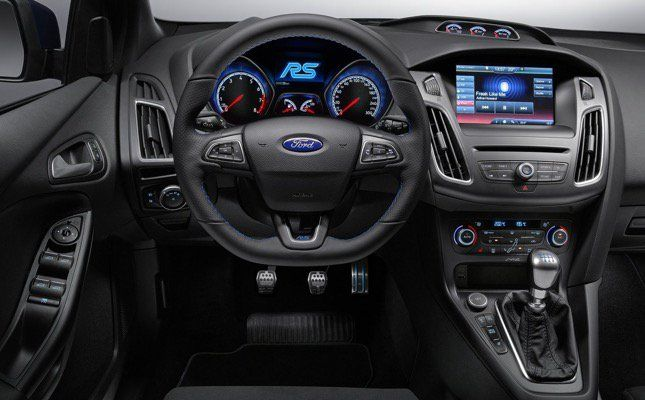 The Ford Focus Rs Is Officially Back Ford Focus Rs Interior Ford Focus Rs Focus Rs