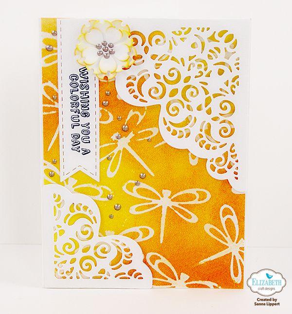 DIY die cut foam stamps and cards – Elizabeth Craft Designs | Papierstau