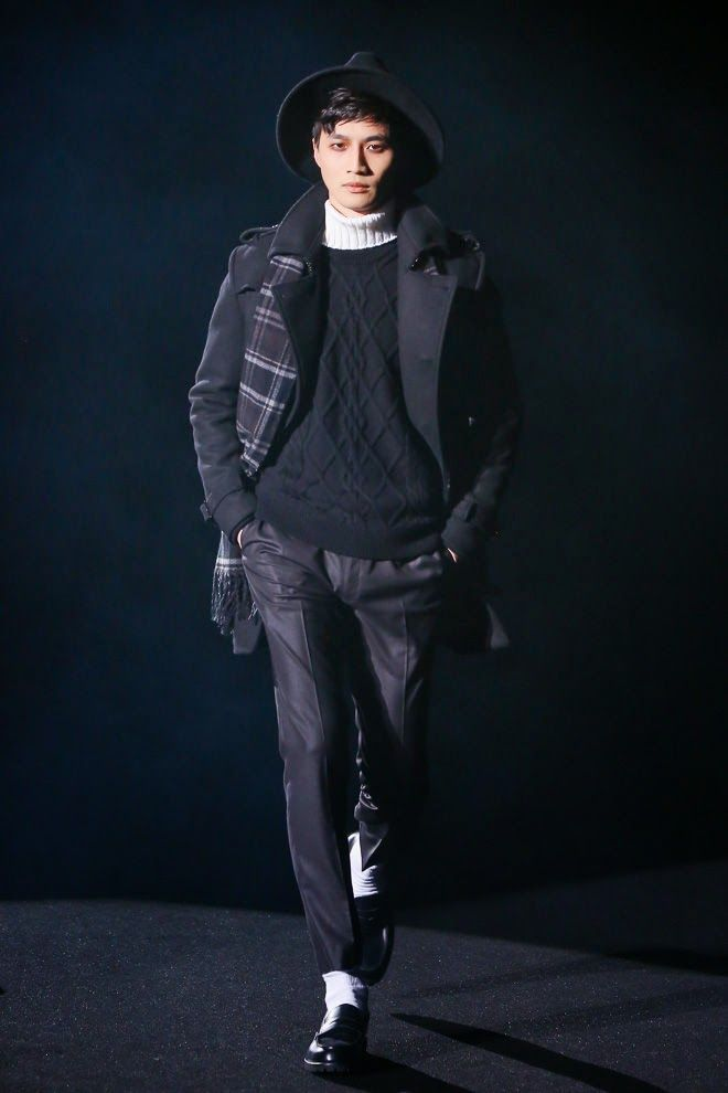 Black by Vanquish Fall Winter 2015 Otoño Invierno #Tendencias #Trends #Menswear #Moda Hombre Mercedes Benz Fashion Week Tokyo M.F.T.