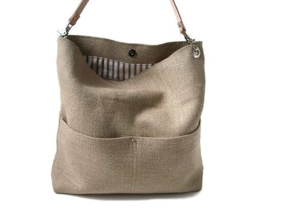 resort tote summer beach bag bucket tote hobo tote linen bag natural jute woven tote. Black Bedroom Furniture Sets. Home Design Ideas