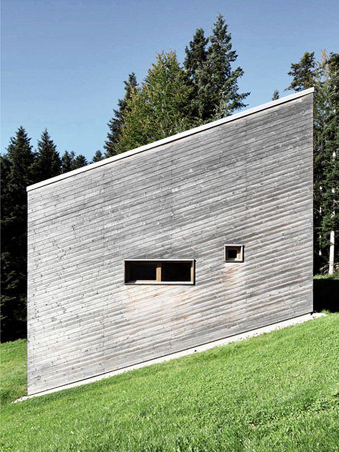 Yonder Architektur und Design Ferienhaus Krumbach ház - gartenarchitektur